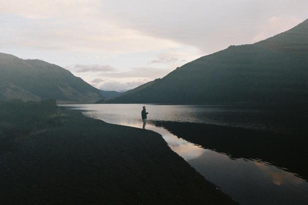 Morning Coffee - Lake Taylor