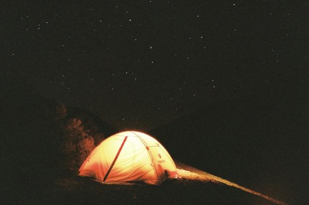 Tent - Lake Taylor